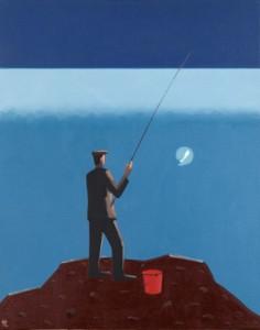 El pescador- óleo sobre lienzo wwwelroto-rabagocom