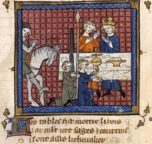 Procesión del Grial | Bibliothèque Nationale de France