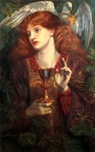The Damsel of the Sanct Grael (1874) | Dante Gabriel Rossetti