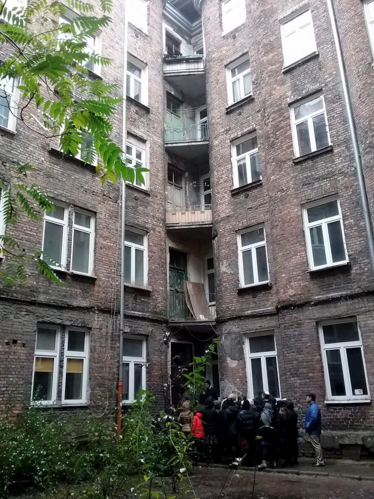Varsovia. Edificio abandonado del gueto.