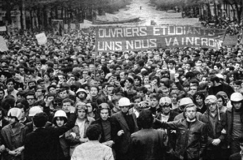 La prometedora alianza entre obreros y estudiantes fue frustrada por el peso del PCF en la CGT.