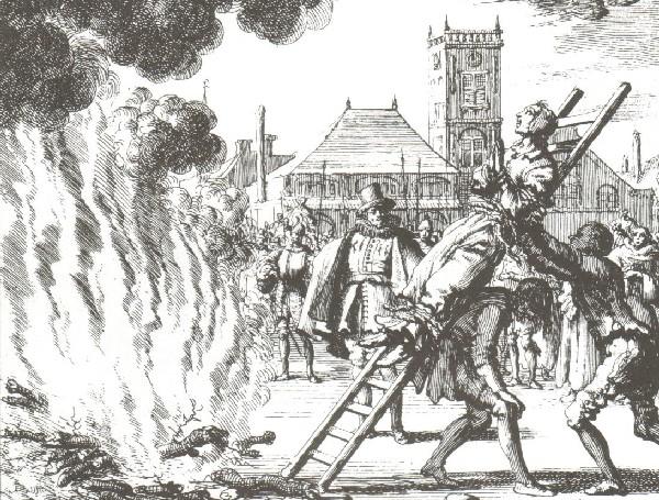 Ejecución de Anneken Hendriks (1685)   Jan Luyken