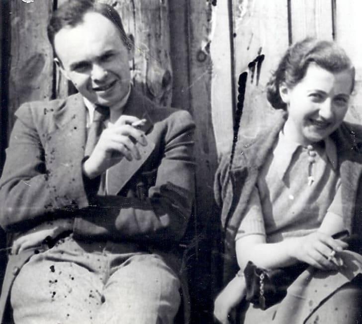 3 - Matulewicz con su esposa