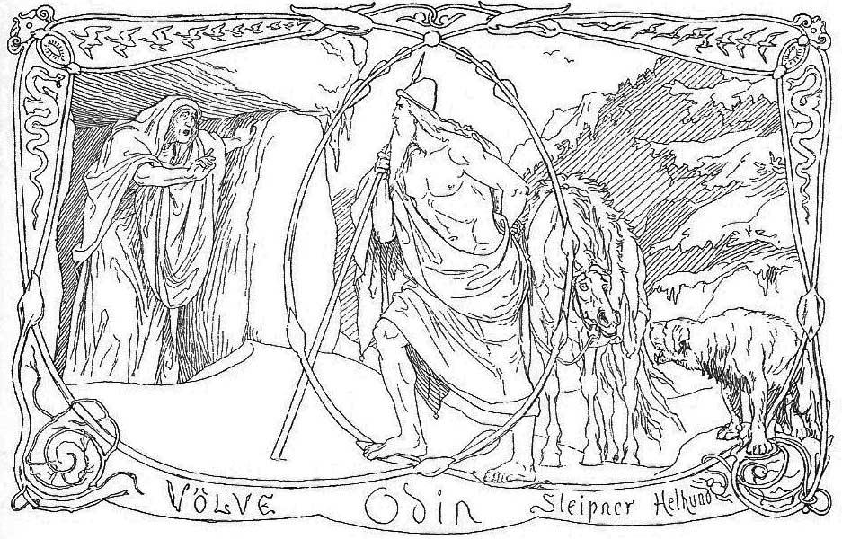 Den ældre Eddas Gudesange. Gjellerup, Karl (1895).