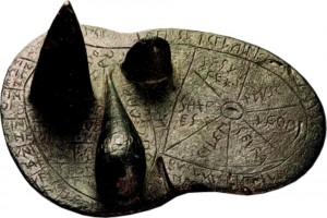 Modelo de bronce para la hepatoscopia, 'Hígado de Piacenza'