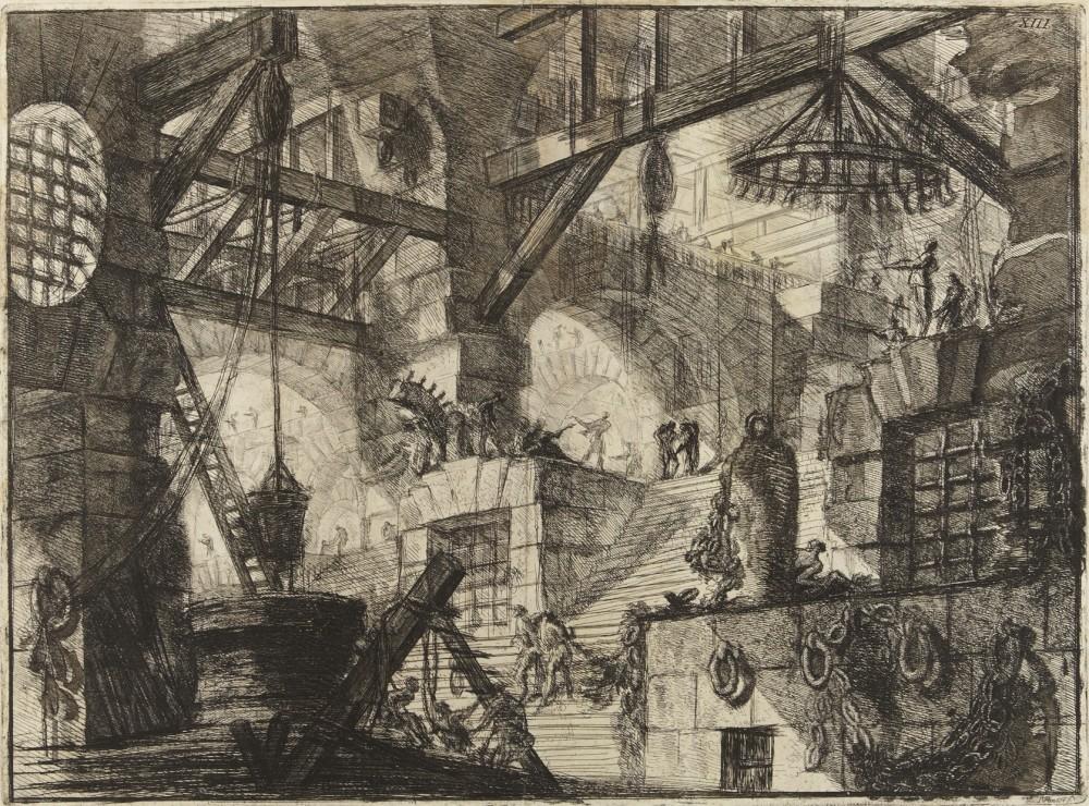 Carceri d'Invenzione (1761) | Giovanni Battista Piranesi