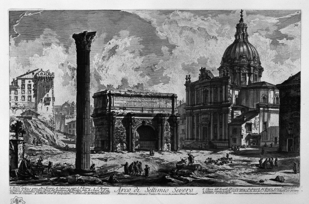 Vedute di Roma 1740-1760) | Giovanni Battista Piranesi